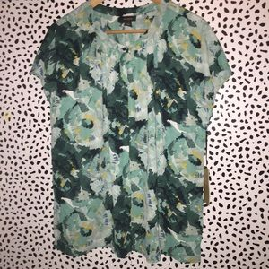 NWT Halogen XL blouse